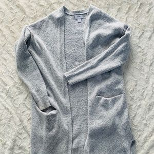Old Navy Sweater Cardigan Silver-Gray Size Medium